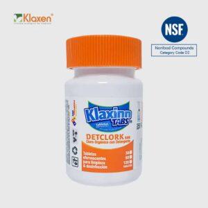Klaxinn Tabs 500ppm – 30 Tabletas de cloro orgánico