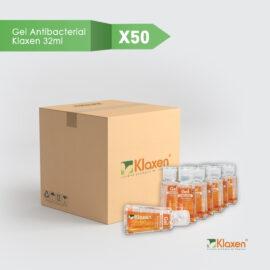 Saniklax – gel antibacterial 70% alcohol – pack 50 unid x 32 ml c/u