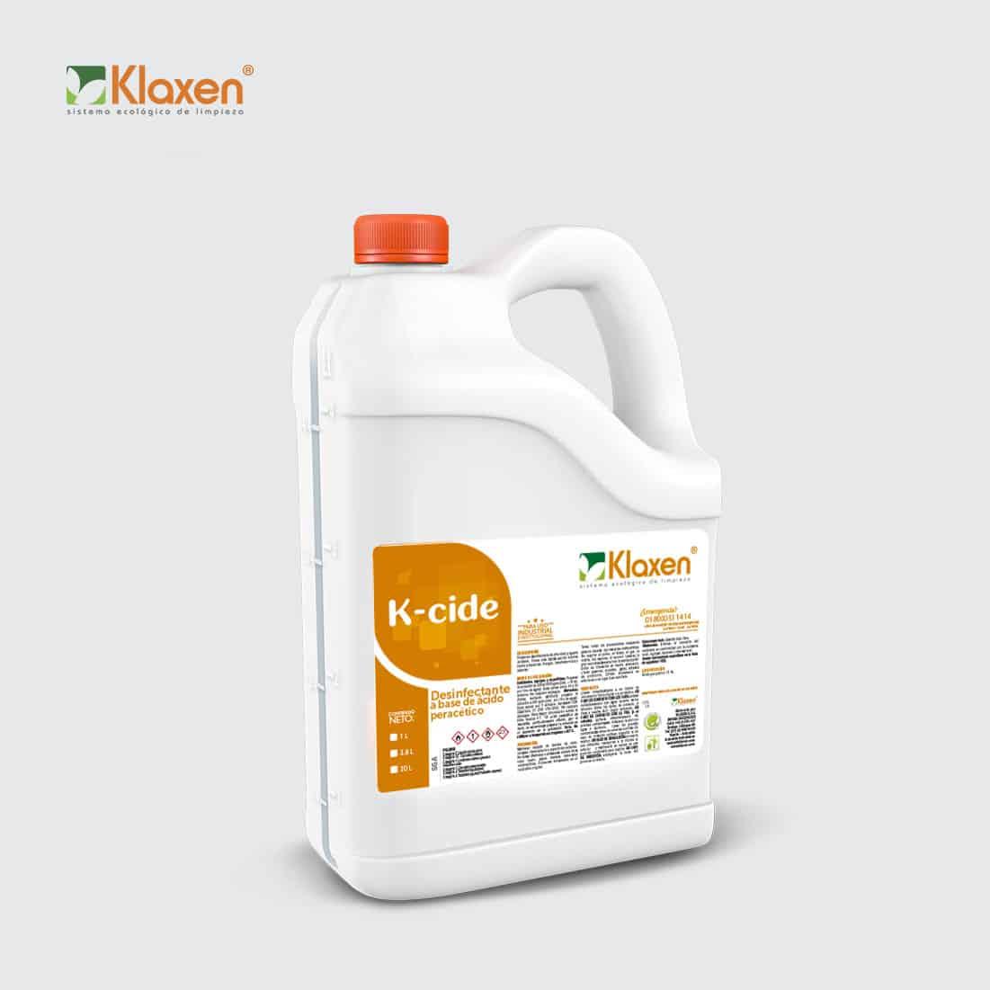 K-CIDE – poderoso desinfectante de alto nivel