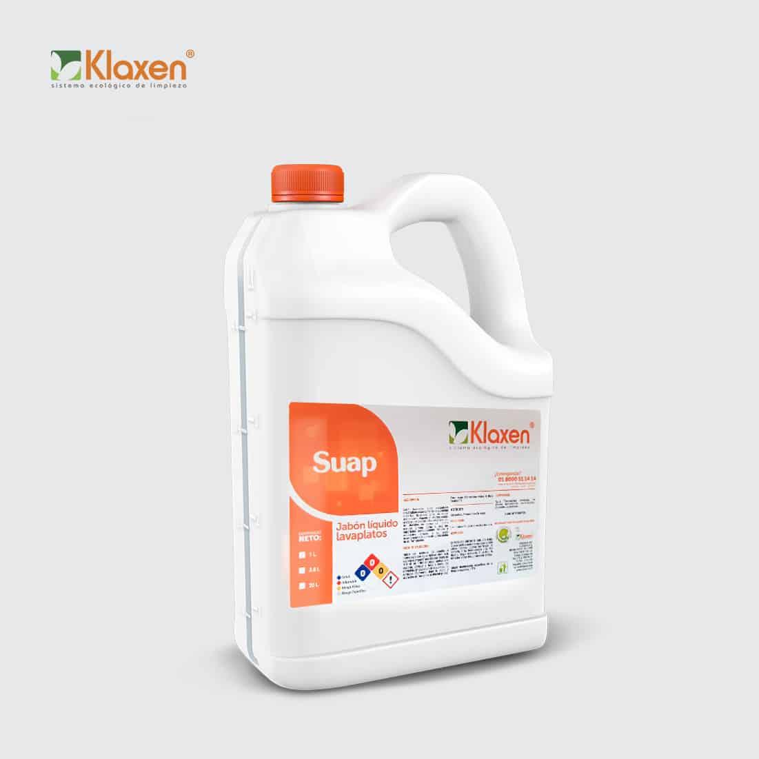 Suap: Jabón líquido para platos – 3.8 litros