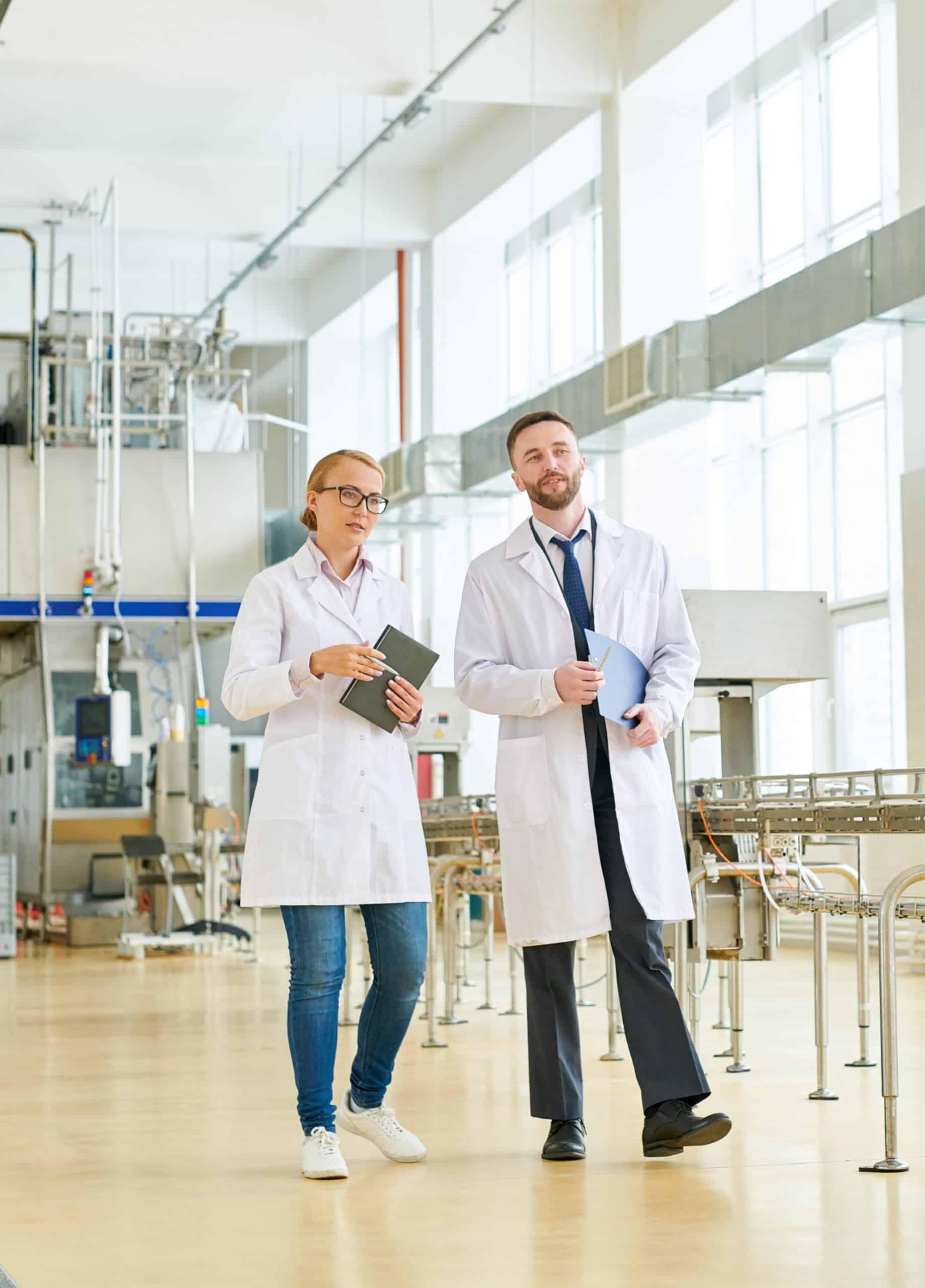 Productos de limpieza y desinfección para el sector o industria de alimentos y bebidas