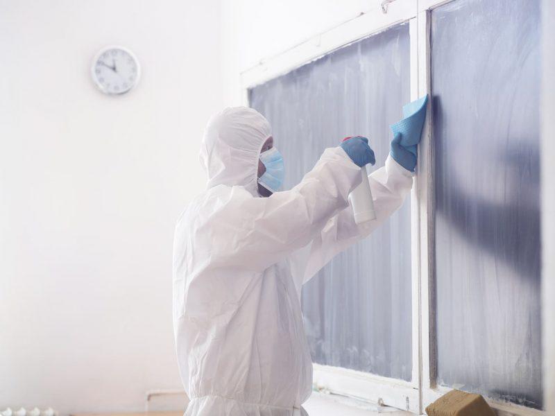 Productos desinfectantes de alta efectividad